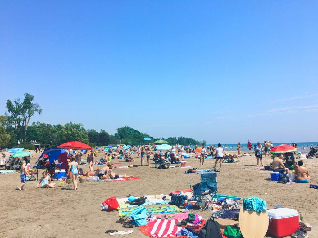Cobourg beach canada